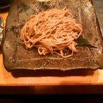 姫すし - 蕎麦と握り4貫セット(蕎麦)