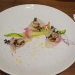 シャトン - 鯛のカルパッチョサラダ仕立て