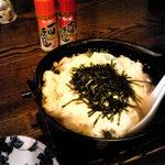 なかむら - 〆の雑炊