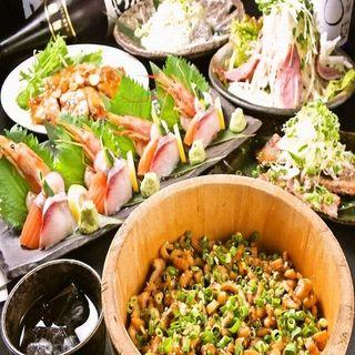 10月限定【秋のカジキマグロのステーキ堪能コース】3500円