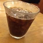 ステーキのどん - 食後のアイスコーヒー