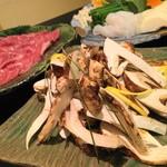43673790 - 宮崎産黒毛和牛と松茸のすき焼き