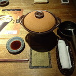 玉の井 - テーブルセット