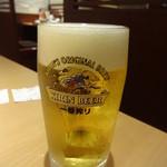 やよい軒 - 生ビール:270円