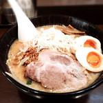 魚らん坂 - 味噌ラーメン★味玉