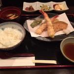 Tomatsu - ランチ(天ぷら)