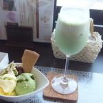 Cafe Lounge 凛 - スウィーツセット
