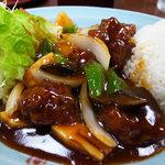 豊園 - 酢豚ランチ(夜でもOK)