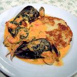 4368941 - 焼きリゾット 魚介のトマトクリームソース