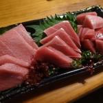築地 中島水産 - インドまぐろ刺身(天然・解凍)ケープタウン産
