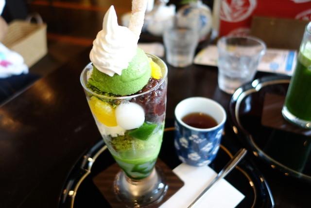 抹茶さろん ひとこと - 2015.10 抹茶カフェ(850円)