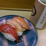 天下寿司 - づけ3種