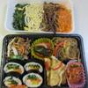 カンナムキンパ - 料理写真:この中からこの日はキンパの入ったお弁当の他ナムルのセットも一緒に購入してお弁当にしました。