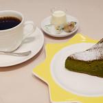 リンタロウ カフェ - ケーキセット