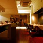 レストラン クロワサンス - お店の内観