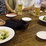肉骨茶 - 2015年10月 料理2500円の宴会コース