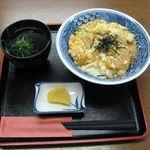 東寺うどん - きつね丼(2015.10)