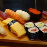 平寿司 - ランチのにぎり「松」