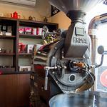 自家焙煎珈琲豆工房 ほの香 - 焙煎機