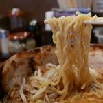 麺場 田所商店 - ちぢれ麺