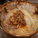 麺場 田所商店 - 炙りチャーシュー麺(1000円)北海道味噌