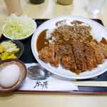 かつ廣 - 大厚ロースカツカレー(1240円)