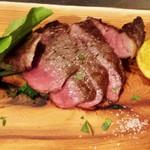 ビストロMER - 料理写真:牛イチボのステーキ