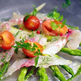 新鮮な有機野菜を贅沢に+。*