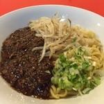 上海飯店 - 肉みそあんかけ麺