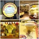 ポムポムプリンカフェ - ソファまでポムポムプリンなカフェ… コーヒーだけ飲んでみたσ^_^