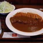 とんかつ 田 - とんかつ 田 西葛西店 カツカレー(ランチ) 819円