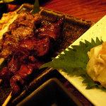 郷どり 燦鶏 - 肝串とか焼きとり各種