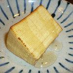 マルタンマルタン - バームクーヘン トーストしてハチミツがけ