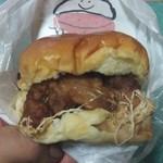 43700472 - 知床地鶏のザンギバーガー