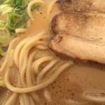西食 - 美味しいスープとチャーシューでした。