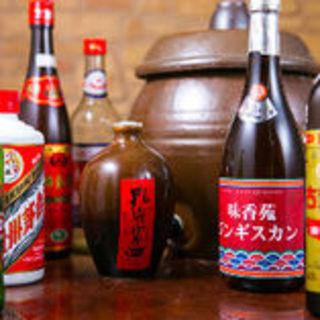 様々な中国名酒