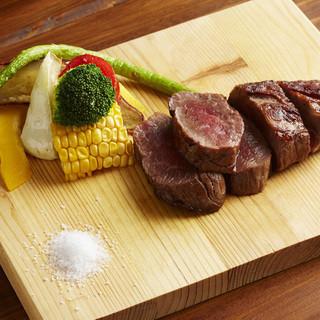 【1日5名限定】国産肉の希少部位を使った極上ステーキ