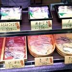 京粕漬 魚久  - ショーケース