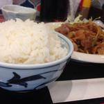 KITCHEN 鑓水商店 - ご飯の盛りが良い!!