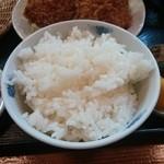 昌平 - 御飯は遅れて登場