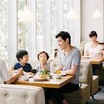 Cafe&BarbecueDiner パブリエ - 週末のご家族でのお食事に是非。