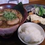 43714116 - 2015.07 影武者チャーシュー麺+チキン南蛮