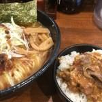 麺屋 天王 - あっさりとチャーシューライス