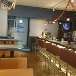 エイチアンドエヌスタイル ヨンニーマルカフェ - 可愛らしい店内
