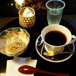 民芸茶房 栗の家 - (2015/9月)「コーヒーとモンブラン」