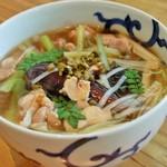 蕎麦 ふくあかり - 料理写真:丹波鶏の山椒そば
