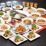 新橋亭 - 料理写真:フルコース各種5000円~2名様より