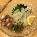 43721935 - 生たこポン酢¥750。