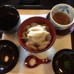 近江神宮 善庵 - 一宮そば十割(¥1500)