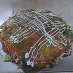 古都 - 料理写真:モダン焼き(ソバ入り)